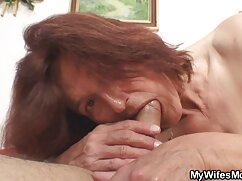 Rubia da semen en las tetas durante follando madres culonas el casting.